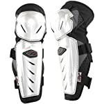 Troy Lee Designs Lopes Signature Adult Knee Guard MotoX/Off-Road/Dirt Bike Motorcycle Body Armor - White / X-Large/2X-Large