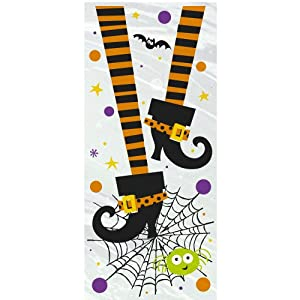 Spooky Boots Halloween Cello Party Bags, 20ct