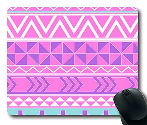 Pinterest Pink Aztec Tribal Patterns Rectangle mouse pad Your Perfect Choice