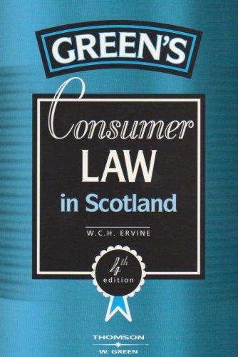 Consumer Law in Scotland
