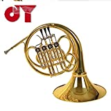 JINYIN JYFH 120G Professional 4 Keys Bb single French horn with Case and accessory Click to see more choice free shipping