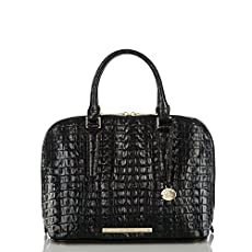 Vivian Dome Satchel<br>Onyx La Scala