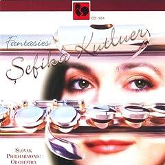 Gabriel Faur�, Johann Sebastian Bach, Sergei Rachmaninov, A. F. Doppler: Fantasies for Flute & Orchestra