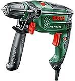 Bosch Home and Garden Schlagbohrmaschine PSB 750 RCE, Tiefenanschlag, Zusatzhandgriff, Koffer (750 W, 14 mm max. Bohr-Ø in Beton)