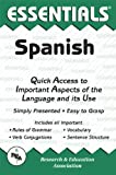 img - for The Essentials of Spanish (REA's Language Series) book / textbook / text book
