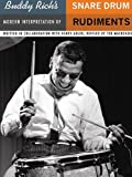 Buddy Richs Modern Interpretation of Snare Drum Rudiments