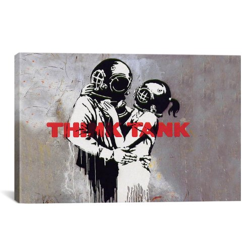 Think Tank Photo Art Print Banksy