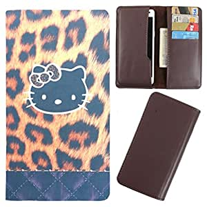 DooDa - For HTC Desire U Dual Sim PU Leather Designer Fashionable Fancy Case Cover Pouch With Card & Cash Slots & Smooth Inner Velvet