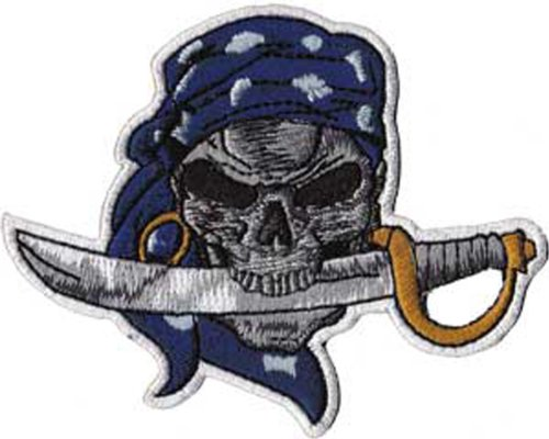 Application Skull with Cutlass Patch