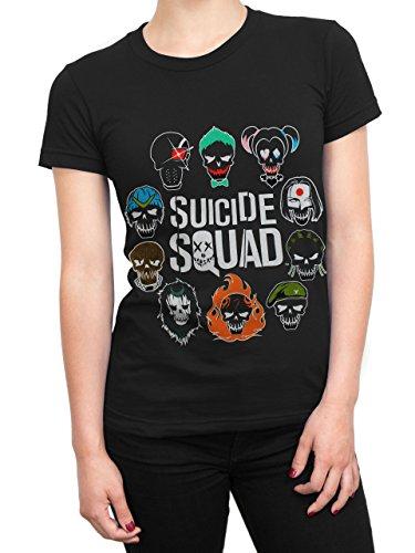 Suicide Squad - Maglietta a maniche corte - Suicide Squad - Donna - Small