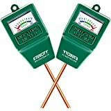 Etekcity® 2 Pack Indoor/Outdoor Moisture Sensor Meter, Soil Water Monitor, Hydrometer for Gardening, Farming