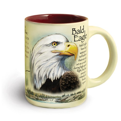 Eagle Ceramic Mug, 16 oz