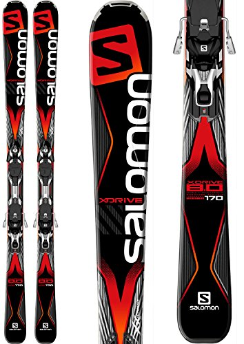 Salomon X-Drive 8.0 Skis w/ XT10 Bindings Mens Sz 163cm