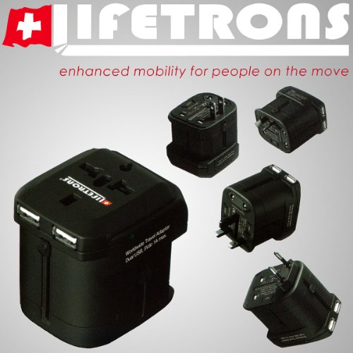 mp3 players accessories stores lifetrons worldwide travel adaptor