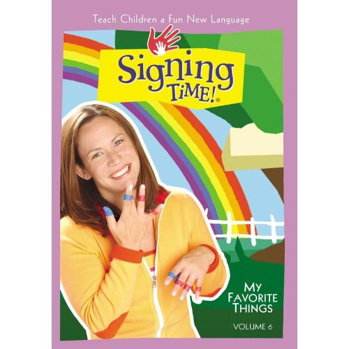 Signing Time Series 1 Vol. 6 - My Favorite Things front-439825