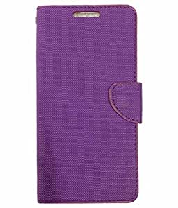ZYNK CASE FLIP COVER FOR REDMI 3S-PURPLE