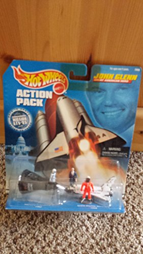 Hot Wheels Action Pack-John Glenn Great American Hero