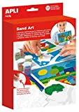 APLI Kids - Caja Sand Art, colorea con arena (13749)