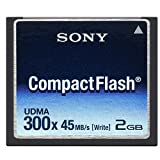 Sony 2GB High Speed Compact Flash Card 300X - 45MB/s