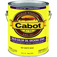 Valspar 140.0001601.007 Cabot Solid Color Oil-Based Decking Stain
