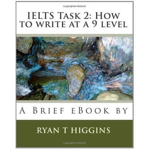 [Ebook] IELTS Writing Academic Task 1 – How to write at a band 9 level