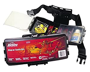 Berkley strap on tackle box black fishing for Amazon fishing gear