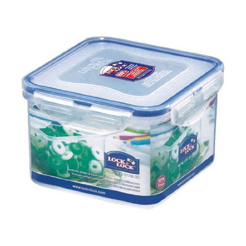 Lock&Lock 29-Fluid Ounce Square Food Container, Tall, 3-1/2-Cup