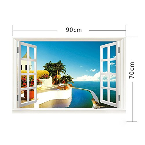 seasofbeauty 3d home decor art diy window ocean beach 3d floral cricut cartridge home decor trend home design