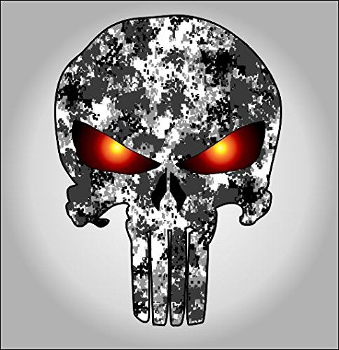Punisher Urban Camo sticker / decal **Free Shipping** - Import It All
