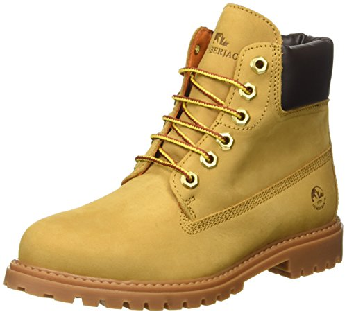 Lumberjack River, Scarpe a Collo Alto Donna, Giallo (M0001 Yellow/Dk Brown), 40 EU