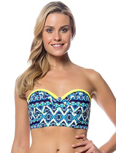 Jessica Simpson Swimwear To Dye For Underwire Bra Top