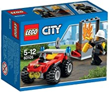 Comprar LEGO City - Set Todoterreno con bomberos, multicolor (60105)