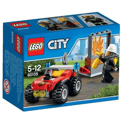 LEGO City Fire 60105: Fire ATV  Mixed