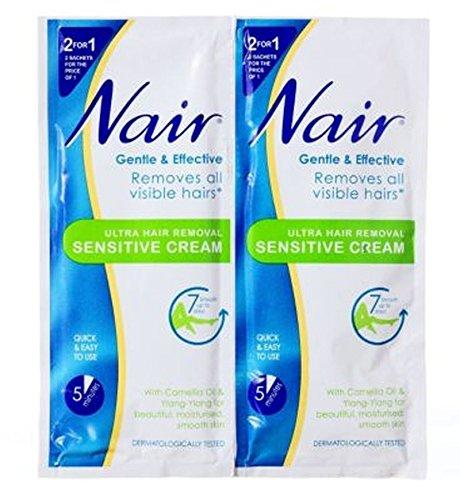 nair-enthaarungscreme-sensitive-sachet-30ml
