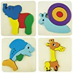"Soled� - Puzzle in Legno ""Cartoon Ani..."
