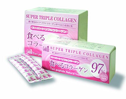女子力アップ 美容サプリメント コラーゲン & ヒアルロン酸 コラーゲンサプリ でお肌のハリと潤いをサポート スーパートリプルコラーゲン 高純度コラーゲン 高濃度コラーゲン 高濃度ヒアルロン酸 保湿力と潤い肌 コラーゲン粉末 エイジングケア 日本製