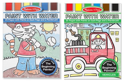 Melissa & Doug Paint with Water Bundle (Boys)(Pack of 2)