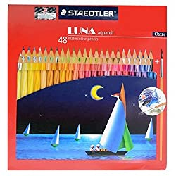Staedtler Luna Colour Pencils 48 Shades Classic Variant