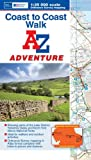 img - for Coast to Coast Adventure Atlas 1:25K A-Z (A-Z Adventure Atlas) book / textbook / text book