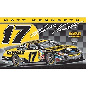 Matt Kenseth 3x5 Double Sided NASCAR Flag by BSI