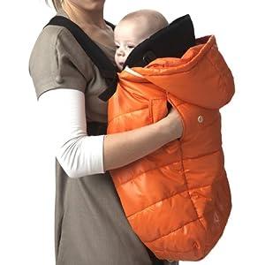 7 a m enfant pookie poncho light baby bunting bag orange peel baby. Black Bedroom Furniture Sets. Home Design Ideas