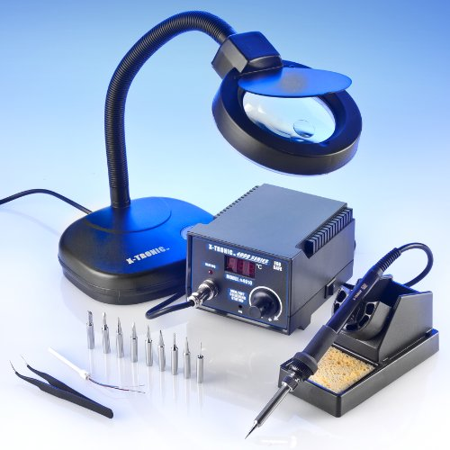 Learn More About X-TRONIC MODEL #4010-XTS - 4000 SERIES - SMD - ESD SAFE - Digital Soldering Iron ...