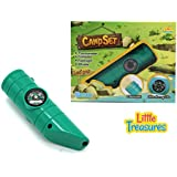 Little Treasures Camp Set For Enthusiastic Preschoolers; A Perfect All In One Camping Gear Including Thermometer...