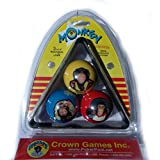 "Monkey Business Special Edition Billiard Pool Three-ball Game Set With 3 Standard Size 2-1/4"" Balls And Special..."