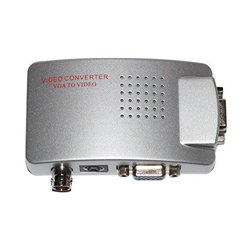 SmoTak Video Converter VGA to BNC, High Resolution Video HD VGA Conversion