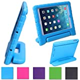 HDE Kids Light Weight Shock Proof Handle Case for Apple iPad mini (Blue)