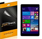 [3-Pack] SUPERSHIELDZ- High Definition Clear Screen Protector For Nextbook 8 Quad Core Windows 8.1 Tablet (NXW8QC16G) + Lifetime Replacements Warranty [3-PACK] - Retail Packaging