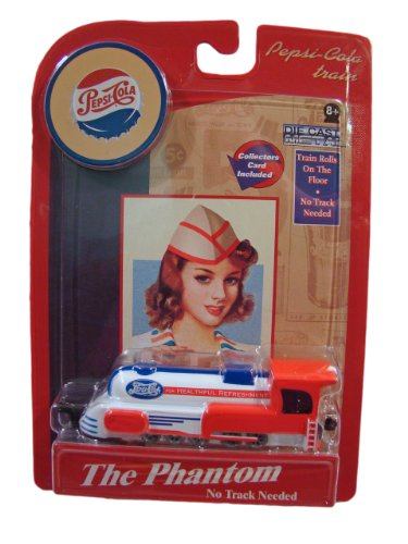 Floor Flyer Pepsi-Cola Train Diecast The Phantom