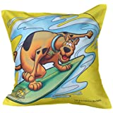 MeSleep Warner Brother Digitally Printed Scooby Doo Cushion Cover - Multicolor (WBsd-Ysk-04-16)