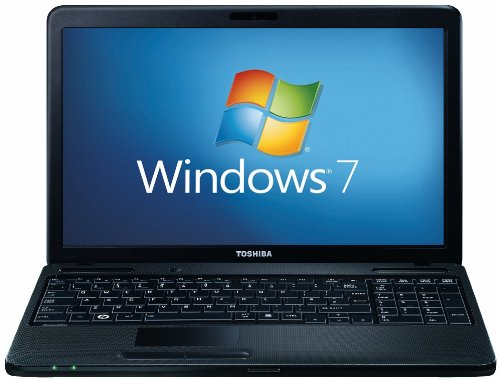 Toshiba Satellite C660D-1C9 15.6 inch Laptop (AMD E450 1.65GHz, RAM 4GB, HDD 500GB, Windows 7 Home Premium)